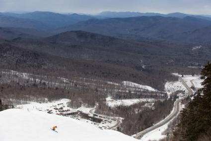 Killington skiing