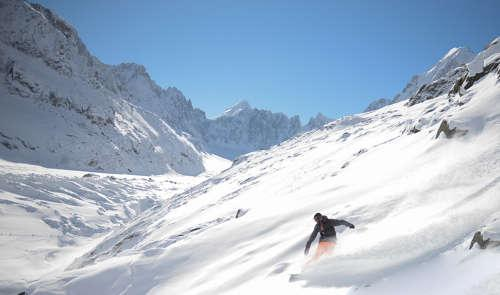 Chamonix - Argentiere Glacier