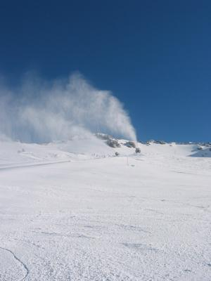 Heavenly has one of the largest snow making operations in the United States.