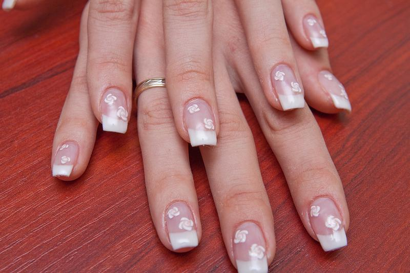 French Nail Pictures Lovetoknow