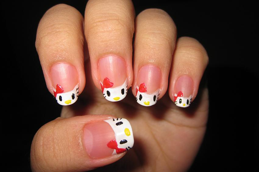 Kitty Inspired Nail Art Lovetoknow