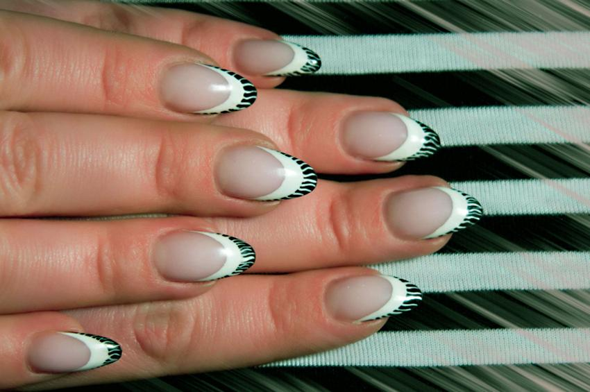 White Flame - Tribal Art Nail Designs LoveToKnow