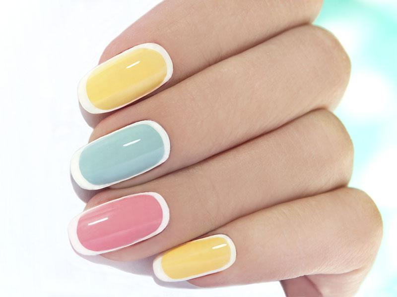 Easter Yellow Nail Polish - Absolute cycle