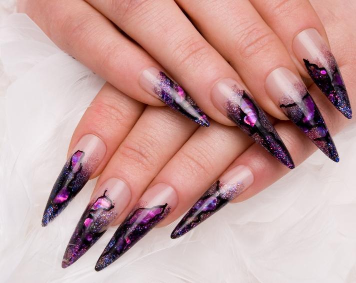 Funky Dark Designs Source Talon Nails