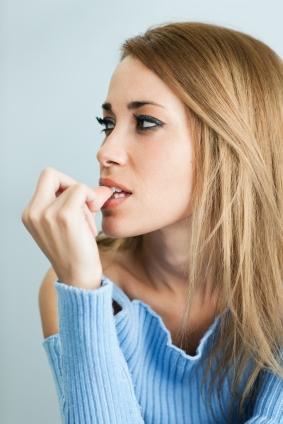 avoid biting nails