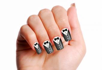 Bow Tie Nail Art Ideas