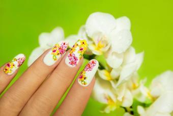 Art nail design