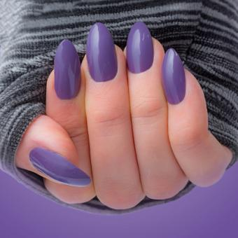 preened and polished nails