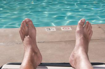 French Pedicure for Men