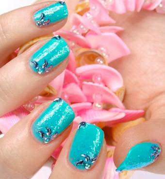 Beachy Nail Designs