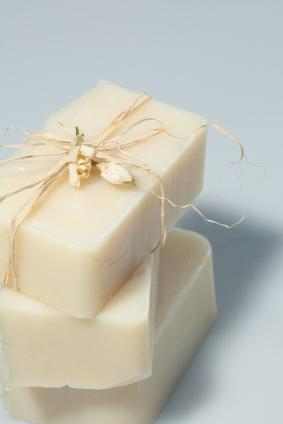 Soap with shea butter and jasmine