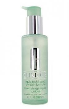 Clinique liquid facial soap available at Amazon.com