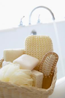 Bath soaps for sensitive skin