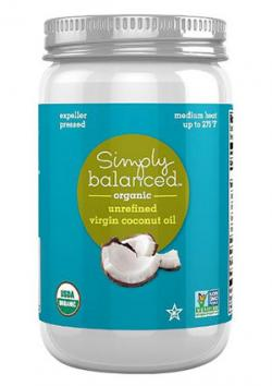 Simply Balanced Coconut Oil