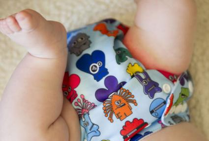 Mild diaper rash