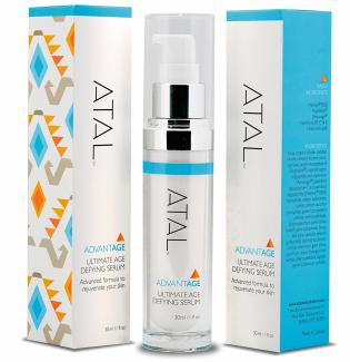 Anti Aging Facial Serum with Anti Wrinkle Moisturizer by ATAL