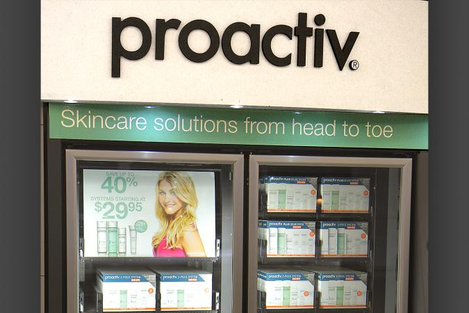 Proactiv skincare vending machine