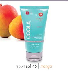 Image of a tube of COOLA suncare product