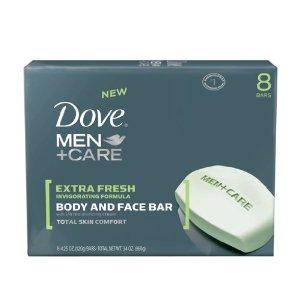 Dove for Men Extra Fresh Body and Face Bar