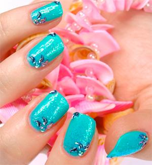 Beachy Nail Designs