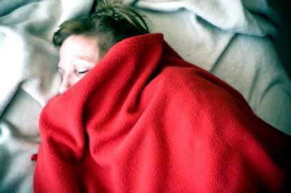 Snoring under blankets