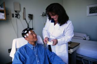EEG test