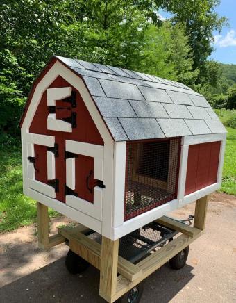 Petsfit Indoor Rabbit Hutch & Hamster Cage