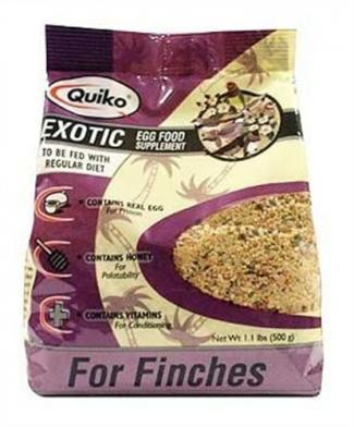 Quicko Exotic egg food