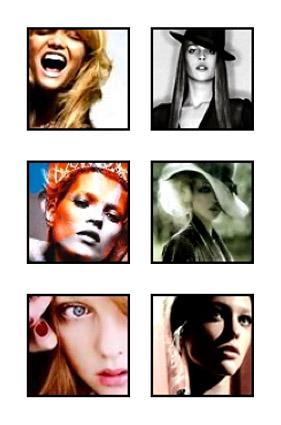 Sampling of female avatars from Avatars.com