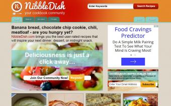 Nibbledish.com screenshot