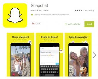 Snapchat for Google Android