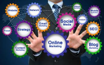 Social network online marketing