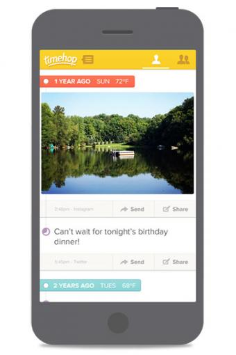 How to Use Timehop