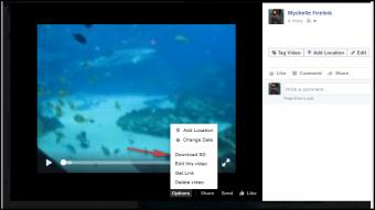 How to edit a video already posted on Facebook