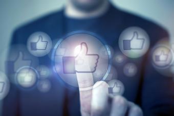 Social media likes/thumbs up