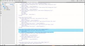 Font for header element in Dreamweaver.
