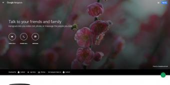 Screenshot of Google-Hangouts