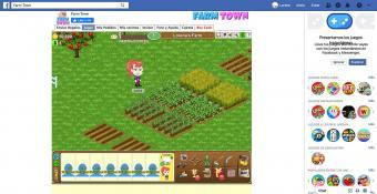 Screenshot of Farm Town Game taken by Lorena Genoves