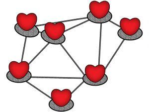 network of hearts