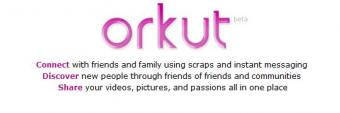 Orkut Main Page