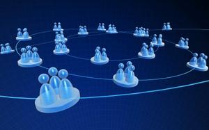 Experience the growth of online social networking.