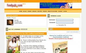 Foodpals.com screenshot