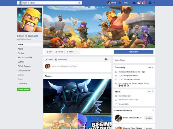 Screenshot of Clash of Clans