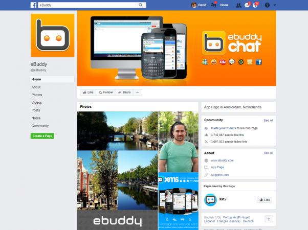 Screenshot of eBuddy