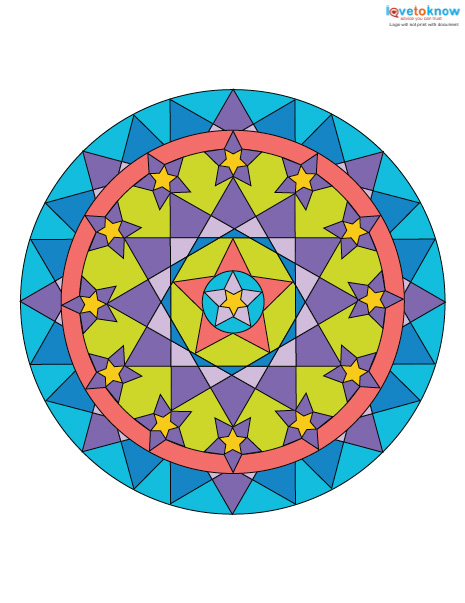 Mandalas For Meditation And Coloring LoveToKnow