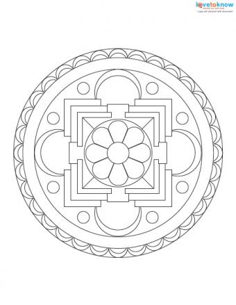 Free Mandala Designs to Print 1