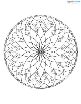 Free Mandala Designs to Print 2