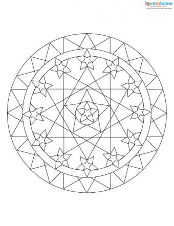 Free Mandala Designs to Print 3