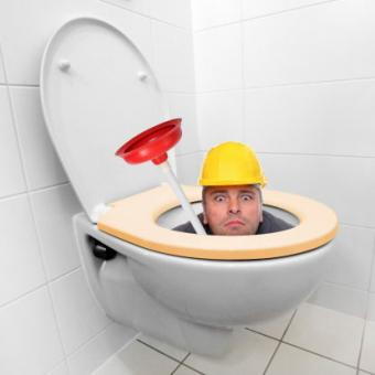 Flush it