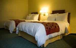 Hotel room enjoyment